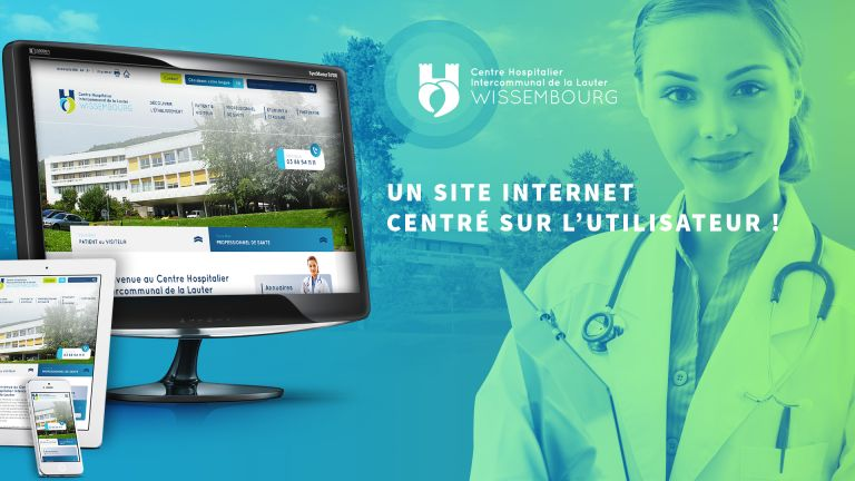 Site web du Centre Hospitalier Intercommunal de la Lauter