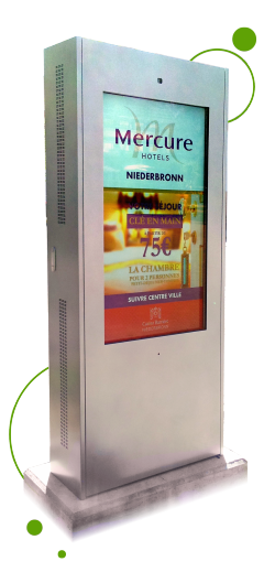 digital touch kiosk outdoor