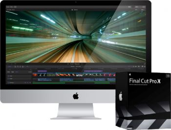 logiciel de montage video Apple - Final Cut Pro X