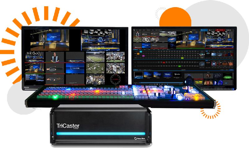 Tricaster multi camera production